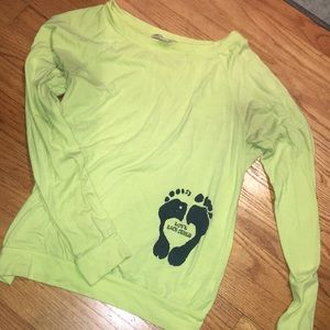 Neon Yellow Love Each Other Top